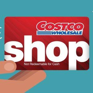还送$250减$40优惠Costco 秋季新会员优惠,开卡即送$40购物卡
