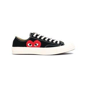 Comme des Garcons Playcanvas heart print sneakers