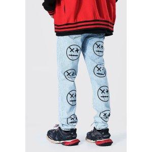 boohooMAN牛仔裤