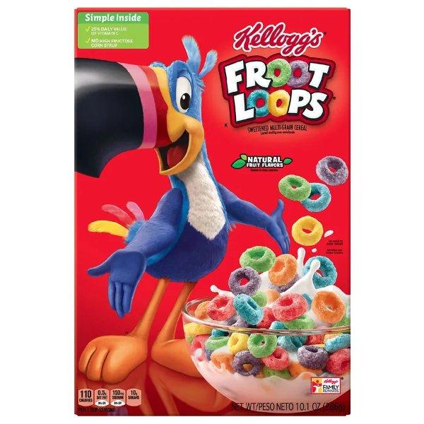 Fruit Loops 即食早餐麦片