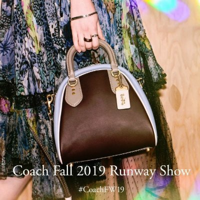 303561186fbd45 Bowling Bag Styles From 2019 New York Fashion Week @ Coach Limited  quantities - Dealmoon