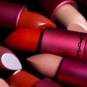8.5折M.A.C 彩妆产品热卖 收渐变子弹头唇膏、Viva Glam限量唇膏