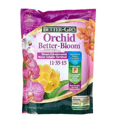 Sun Bulb 8305 Better Gro Orchid Plus Bloom Booster Fertilizer, 16-Ounce