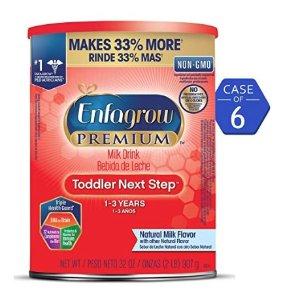 6.6折起 封面款每罐$18Enfagrow 婴幼儿配方奶粉促销,多款上新