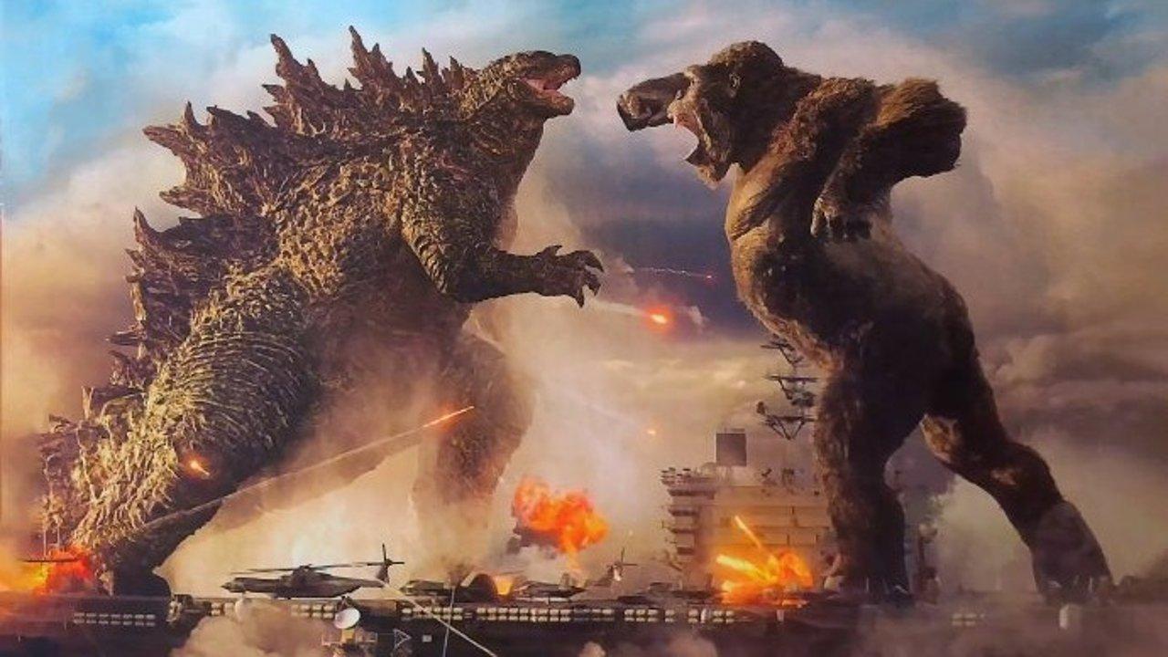 全球热门电影 | 《哥斯拉大战金刚》强势上榜 创疫情后好莱坞影片最高票房记录