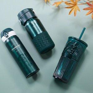 9月29日开售预告:Starbucks 星巴克 墨绿森林系列女星神杯来啦