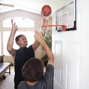 $40.48 玩味十足SKLZ Pro 迷你篮球框 有一扇门就可以感受打篮球的乐趣