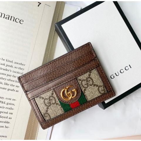 全场75折 €146收封面卡包 刚补货!Gucci 独家大促 经典LogoT恤 、小白鞋、迪士尼联名冰点价