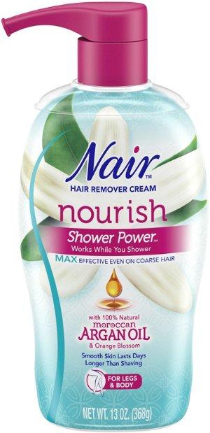 Nair Nourish Moroccan Argan Oil Shower Power Max | Ulta Beauty