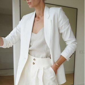 低至4折+额外7折Club Monaco 季末美衣大促 丝感半裙$43,羊绒毛衣$77
