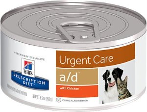 Hill's Prescription Diet a/d Urgent Care with Chicken Canned Dog & Cat Food, 5.5-oz, case of 24 - Chewy.com