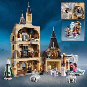 现价£69.99(原价£84.99)6月新品Lego乐高 哈利波特:霍格沃茨钟楼 (75948)