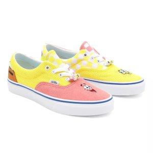 VansX SpongeBob Era 帆布鞋
