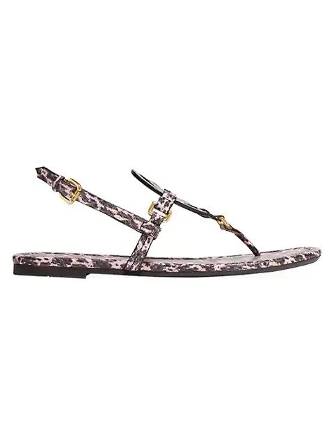 Jeri 蛇纹凉鞋