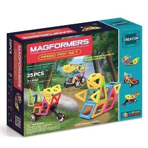 $13.36 起 STEM 早教玩具Magformers Creator 系列 儿童创意磁力片玩具,多款可选