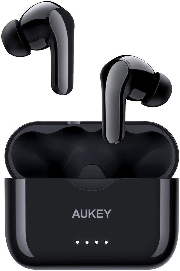 AUKEY EP-T28 蓝牙5.0 真无线耳机 支持USB-C快充