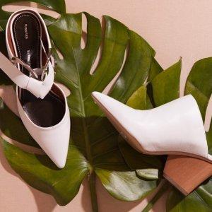 精选7.5折 £228收NK珍珠跟穆勒鞋Fivestory 大牌美衣美鞋热卖