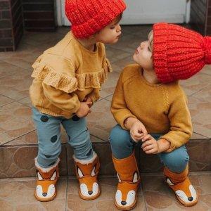 儿童雪地靴/保暖靴年末促销 Emu Australia,马丁靴都有