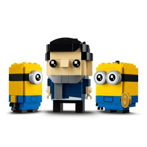 LegoGru, Stuart and Otto 40420 | Minions | Buy online at the Official LEGO® Shop US