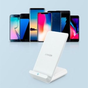 Anker PowerWave 10W Wireless Charging Stand for iPhones and Android