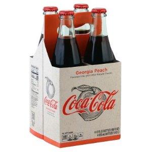 Coca-Cola Origins Georgia Peach - 4pk/12 Fl Oz Glass Bottles : Target