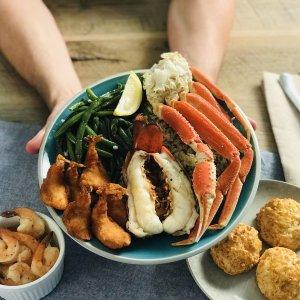 $10.99起+提供无接触送餐Red Lobster 家庭套餐、派对套餐热卖,海鲜大餐在家坐享