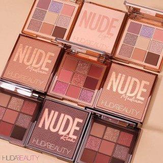 $29 + 自选好礼上新:Sephora Huda Beauty Nude系列9色眼影盘热卖