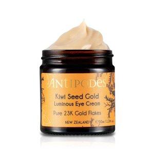 ANTIPODES提亮+保湿Kiwi Seed Gold Luminous 眼霜 30ml