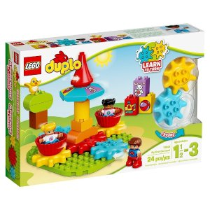 From $3.99LEGO DUPLO My First Carousel 10845 Educational Toy, Large Building Blocks & More@ Amazon