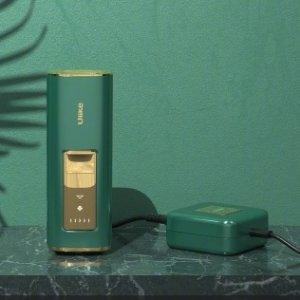 上新德国站+包邮送到家Ulike Air+ 蓝宝石冰晶绿钻 脱毛仪 强效冰点激光脱毛  两周见效