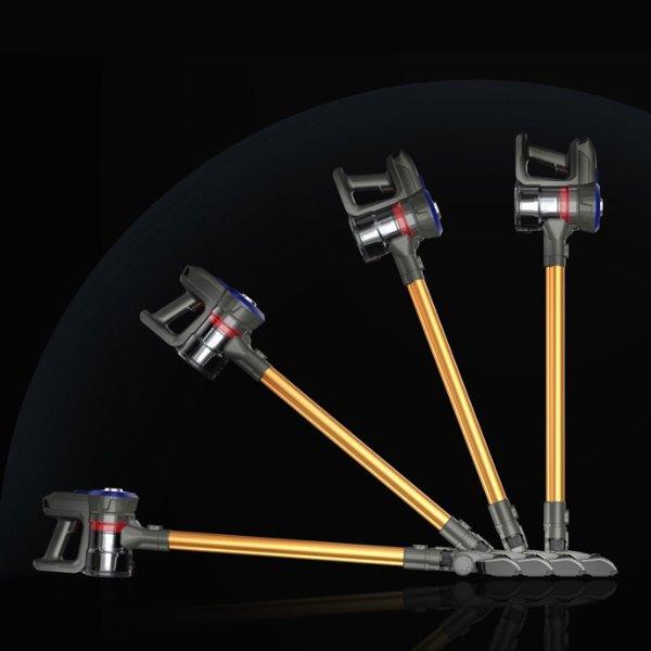 地贝无线吸尘器,家用小型强力大功率手持式除螨