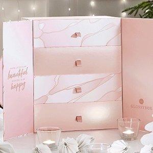 订阅价仅€85 24样单品hin划算上新:GlossyBox 2020圣诞日历已开售 价值超过€500