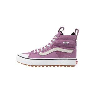 Vans香芋紫高帮滑板鞋