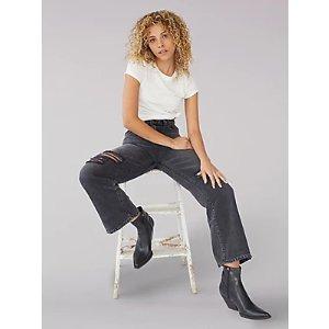 BOGO 50% OffWomen's Vintage Modern High Rise Cropped Wide Leg Jean | Women's Jeans | Lee®