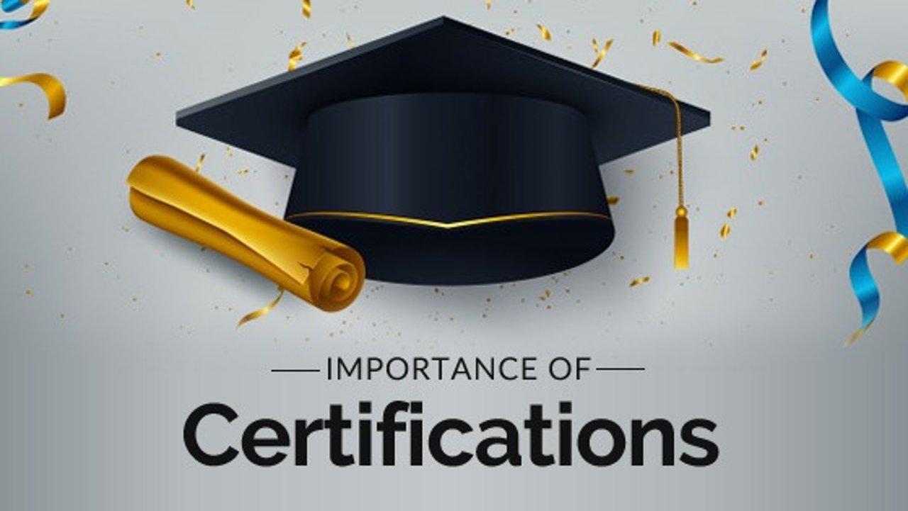 超实用的线上证书课程 | 技多不压身,证多心不慌