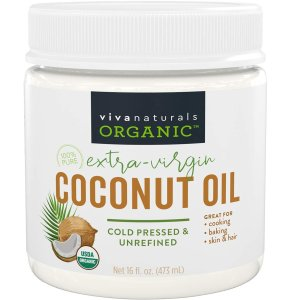 Viva Naturals 有机椰子油 16盎司