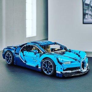 $349.99补货:LEGO乐高®机械组系列布加迪Chiron超级跑车Bugatti Chiron - 42083