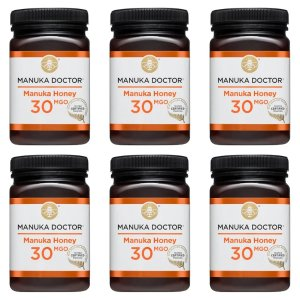 Manuka Doctor30 MGO Manuka Honey 500g 6罐