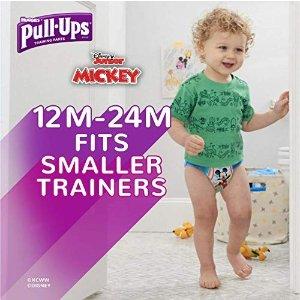 宝宝训练裤, 2T-3T (18-34 磅.), 94 片