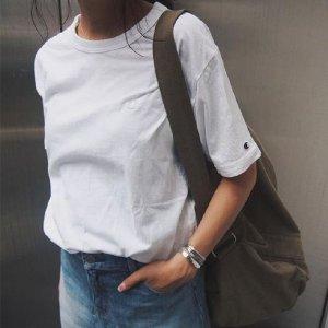 限时秒杀¥55+满¥303减30Champion 中性 经典款T恤 新垣结衣同款