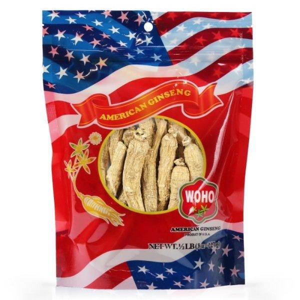 WOHO #101.8 美国精选花旗参长枝大号8oz袋装