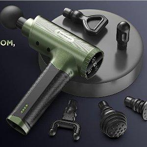 $99.99(原价$149.99) 免税史低价:TaoTronics 深层肌肉放松 超静音筋膜枪、按摩枪