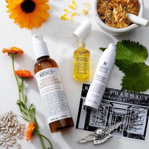 Receive a 4 piece giftwith any $65+ purchase @Kiehl's