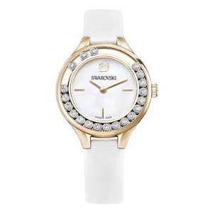 Swarovski25% off $165 purchaseLovely Crystals White & Gold Watch