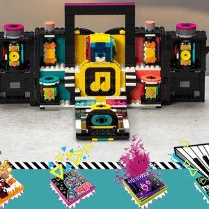 Lego可连接appThe Boombox 收音机
