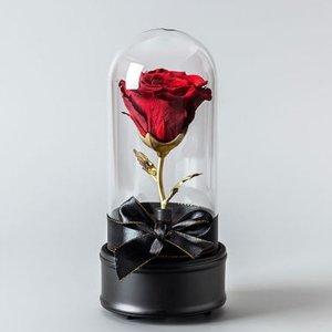 $45.99(原价$95) 包邮永生玫瑰花音乐盒 多色可选