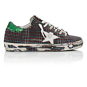 GOLDEN GOOSEWomen's Superstar Tweed Sneakers