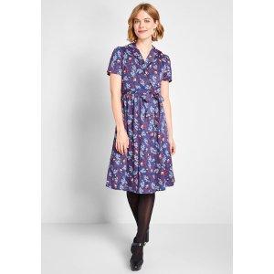 ModClothTied and Timeless Wrap Dress