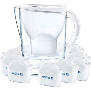 Brita一年量 带水壶滤水壶带12个滤芯