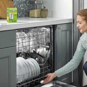 $7.57(原价$9.79)Affresh Whirlpool 洗碗机清洗剂3X20克